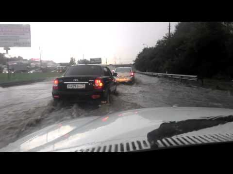Тула, ул. Рязанская, 24.08.16, после дождя