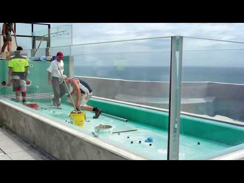 Acrylite Tv Swimming Pool Youtube