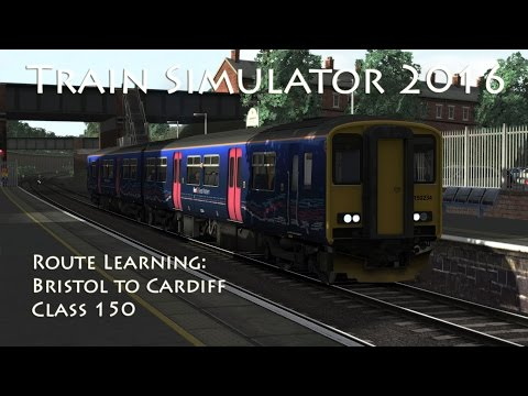 Train Simulator 2016 - Route Learning: Bristol to Cardiff (Class 150)