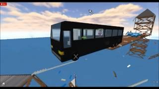 Roblox - Final Destination 5 Alternate Bus Automne Scène