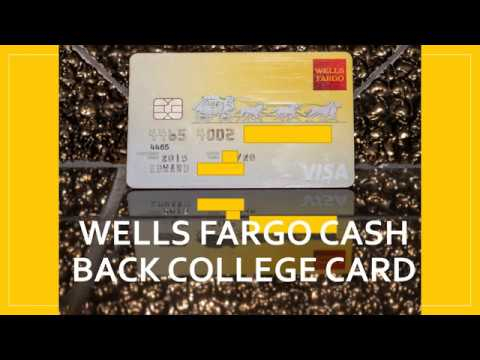 Earn $14/per year with this card: Wells Fargo Cash Back College Card
