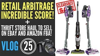 CRAZY Retail Arbitrage Clearance Finds to Sell on Amazon FBA and eBay + Goodwill Finds