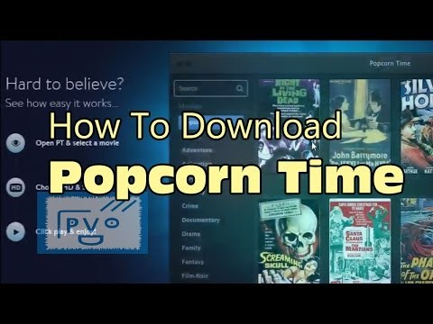 how to download popcorn time on wii pc