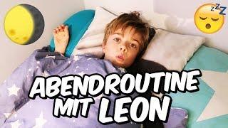 Leons ABEND ROUTINE vor der Klassenarbeit 💪 Lulu & Leon