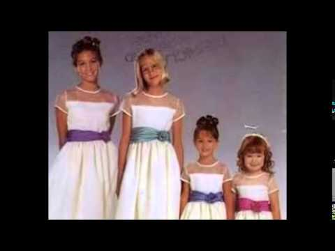 Flower girl dress styles youtube flower girl dress styles mightylinksfo