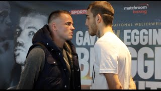 BRAGGING RIGHTS ON THE LINE! - FRANKIE GAVIN v SAM EGGINGTON - HEAD TO HEAD @ PRESS CONFERENCE