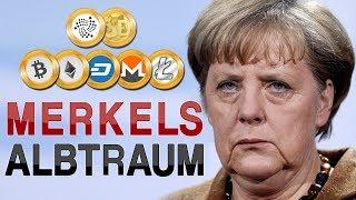 Merkels Albtraum   Ist Bitcoin bald Mainstreamwährung?! (Analyse, keine Kaufempfehlung!)