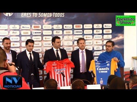 NV NOTICIAS Presenta: Nuevo Director Técnico Atlético de San Luis SLP 2017