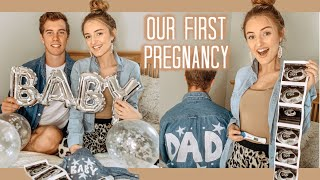 Our Pregnancy Announcement! (OUR FIRST BABY)