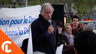 Rassemblement pour le droit de mourir dans la dignité (2 novembre 2018, Paris)