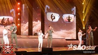cha  nhom the wings  liveshow 6 the x factor - nhan to bi an 2016 ss2