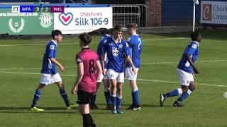 MATCH HIGHLIGHTS: Macclesfield Football Academy vs Wilmslow High School