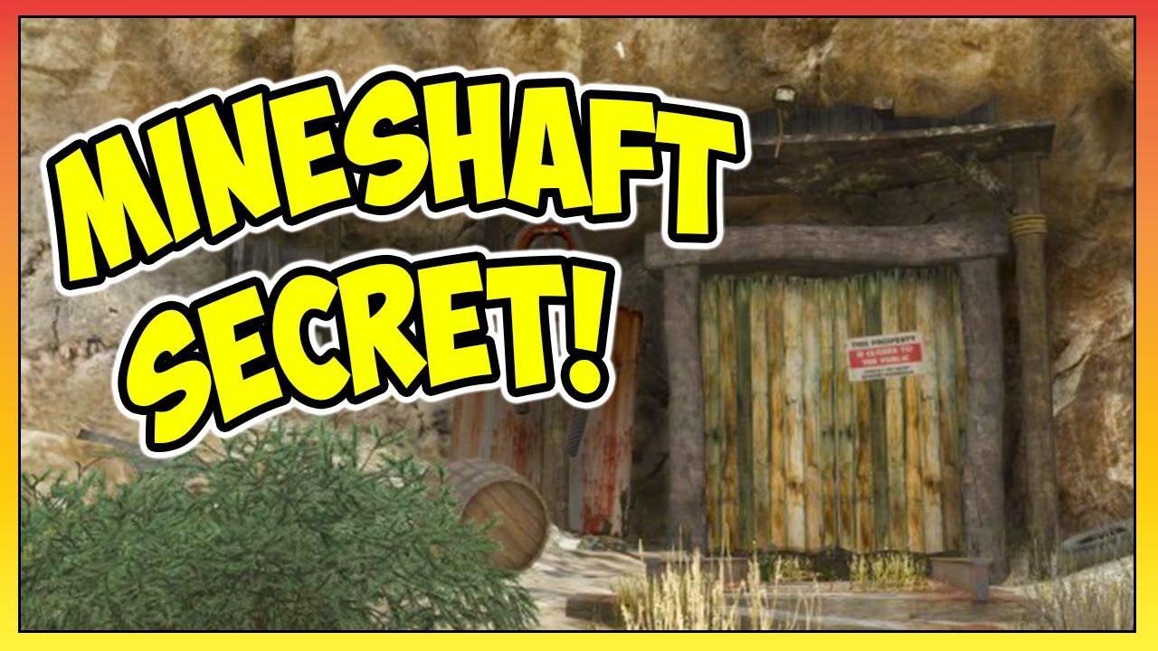 GTA 5 - SECRET Mineshaft Location! + DEAD Body Easter Egg! (GTA V)
