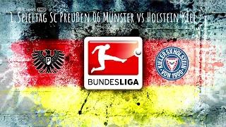 11.2.17 Sc Preußen 06 Münster vs Holstein Kiel