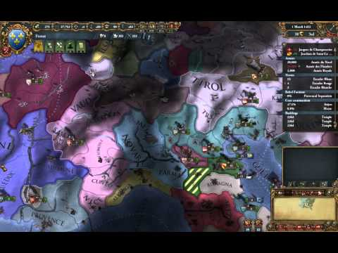 EU4 - Tutorial France 11 - Buildings and Cores