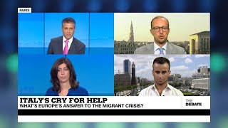 THE DEBATE - Italy's cry for help: What's Europe's answer to the migrant crisis?
