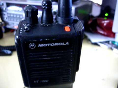 Motorola Ht1000 инструкция img-1