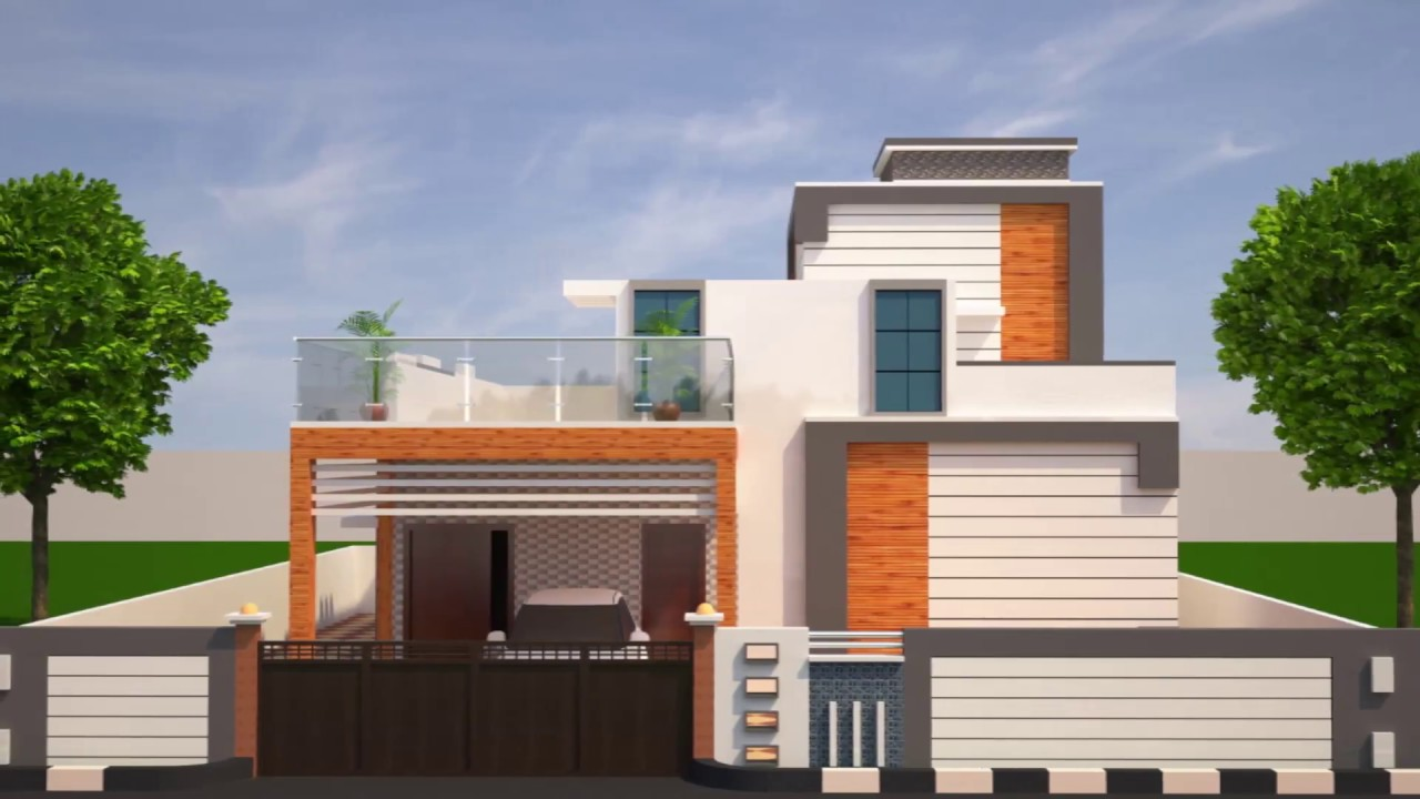 Front elevation designs youtube for Front home design ideas