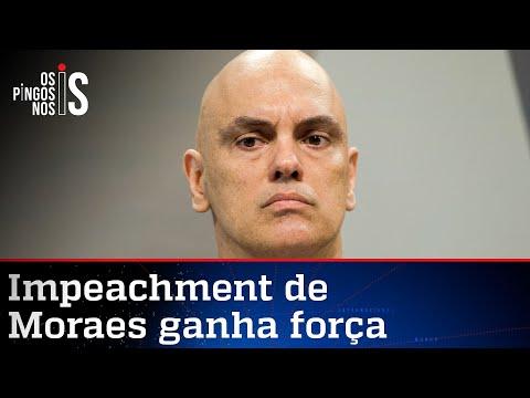 Alexandre de Moraes é recordista de pedidos de impeachment