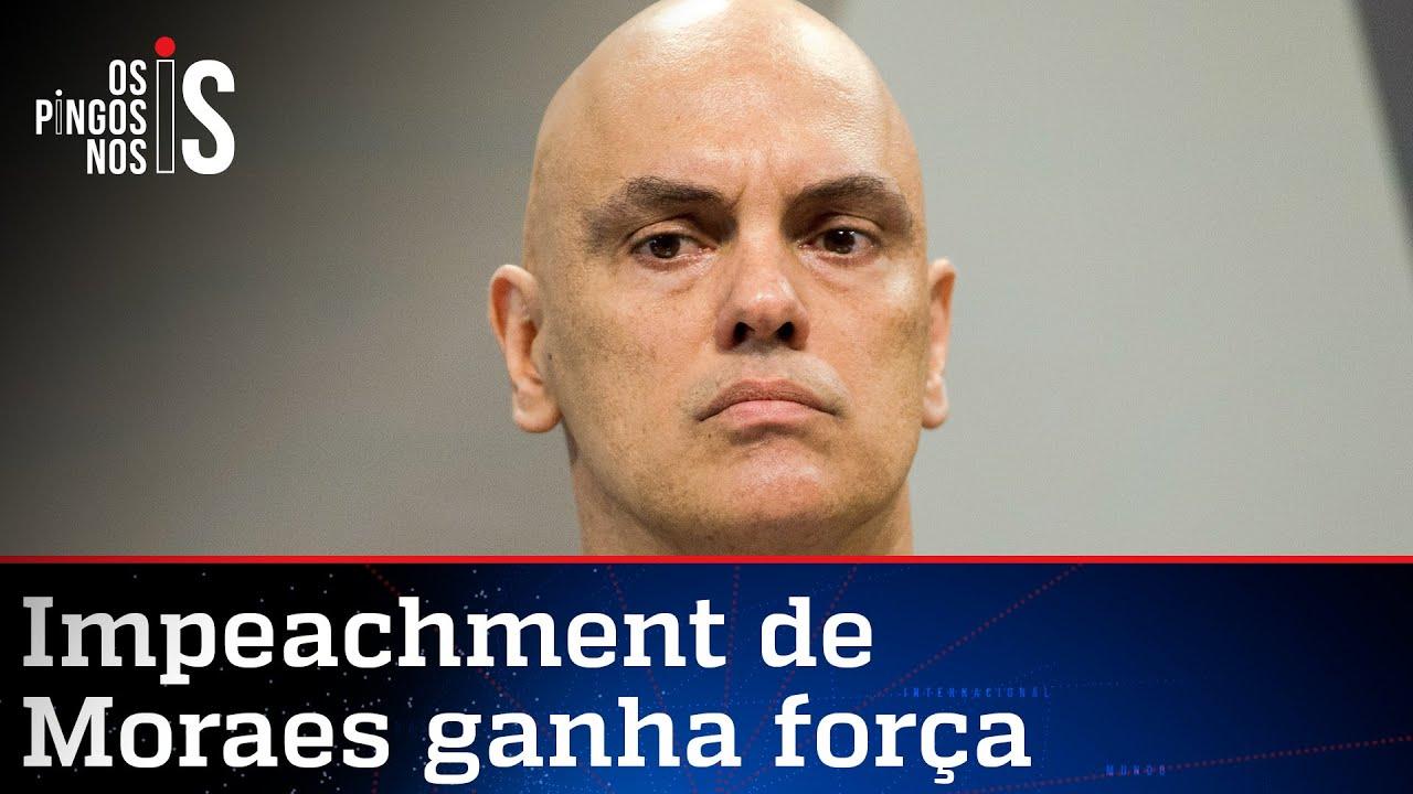 Download Alexandre de Moraes é recordista de pedidos de impeachment