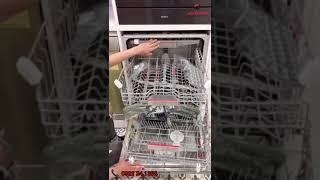 Máy rửa bát Bosch SMV68TX06E thiết kế âm tủ toàn phần