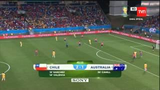 Video Gol Pertandingan Chile vs Australia