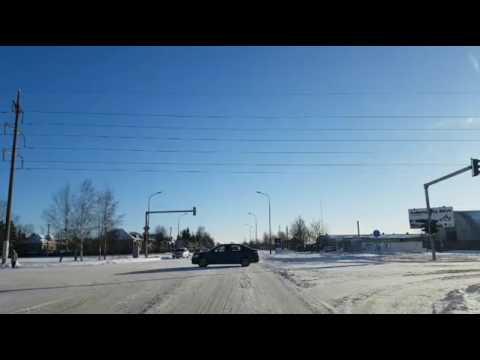 Ledines Siauliu Gatves, City Ice roads on drive in Lithuania, Cтрашно водить машину каток Литва