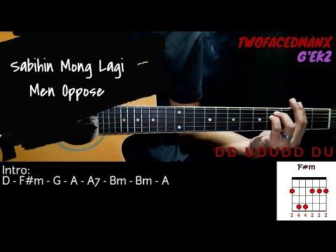 Sabihin Mong Lagi - Men Oppose (Guitar Cover With Lyrics & Chords)
