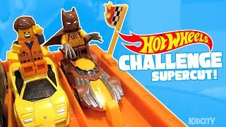 Hot Wheels Superheroes Challenge SuperCut! Race Car Action & Family Fun by KIDCITY