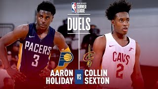 b17029004 Collin Sexton   Aaron Holiday Duel It Out In MGM Resorts Summer League  Action!