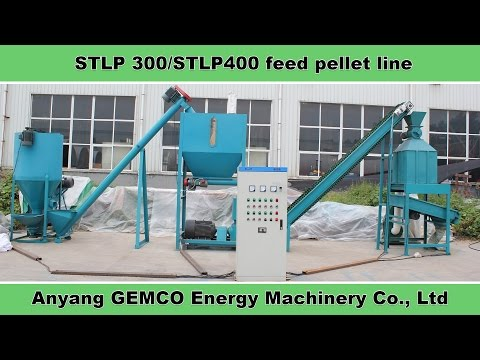 How to make feeds with small animal feed pellet line?