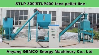 Repeat youtube video How to make feeds with small animal feed pellet line?