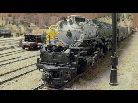 Scratch Built and Prorotype Brass Locomotives in HO Scale with Ralph and Rosie
