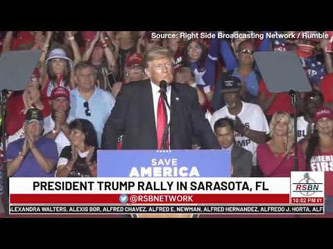"""Trump's July 4 Message: America Is the Greatest Nation in History, """"We Are Not Going to Le"""