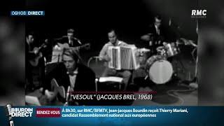 Mort de Marcel Azzola, légende de l'accordéon et accompagnateur de Piaf et de Brel