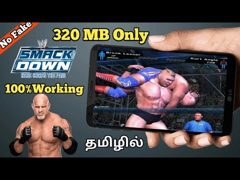 [320MB] WWE SmackDown Here Comes The Pain Game For Android||TAMIL