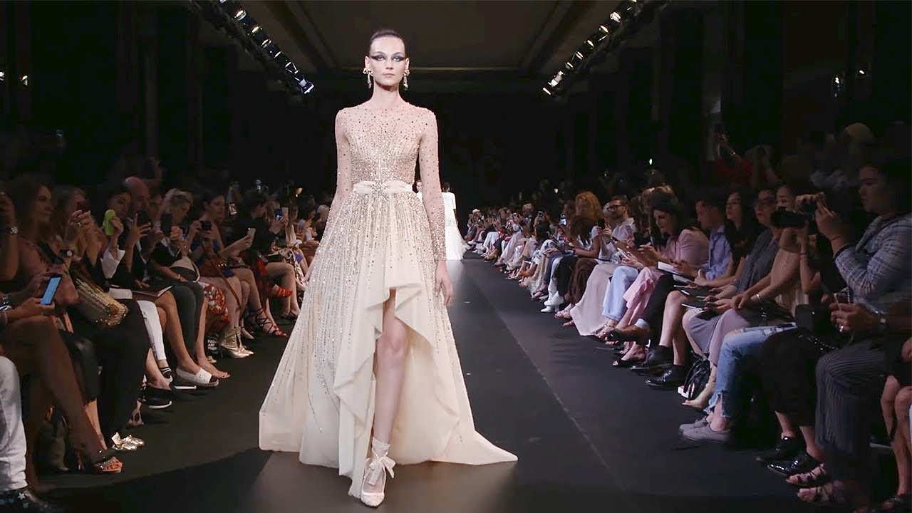 [VIDEO] - Georges Hobeika | Haute Couture Fall Winter 2018/2019 Full Show | Exclusive 8