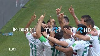 Optimile CM de Fotbal 2018: Brazilia - Mexic şi Belgia - Japonia, în direct la TVR1
