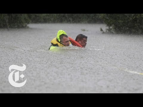 Houston Flooding Is Deadly as Harvey Lingers