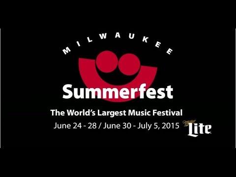 Summerfest 2015 Grounds Stage Headliner Announcement
