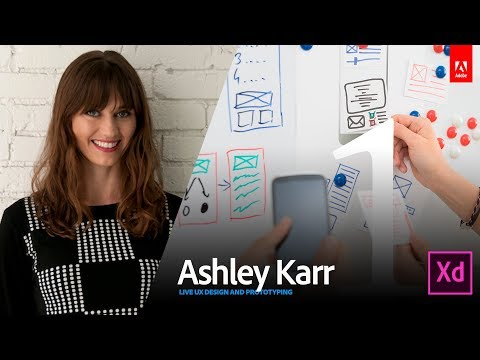 Live UI/UX Design with Ashley Karr 1/3