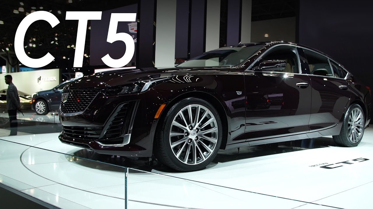 2019 New York Auto Show 2020 Cadillac Ct5 Consumer Reports Youtube