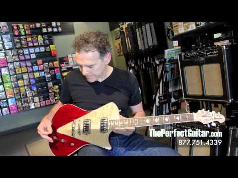 The new Music Man Armada at The Perfect Guitar