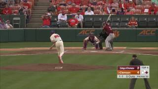 Clemson Baseball || College of Charleston Game Highlights - 4/25/17