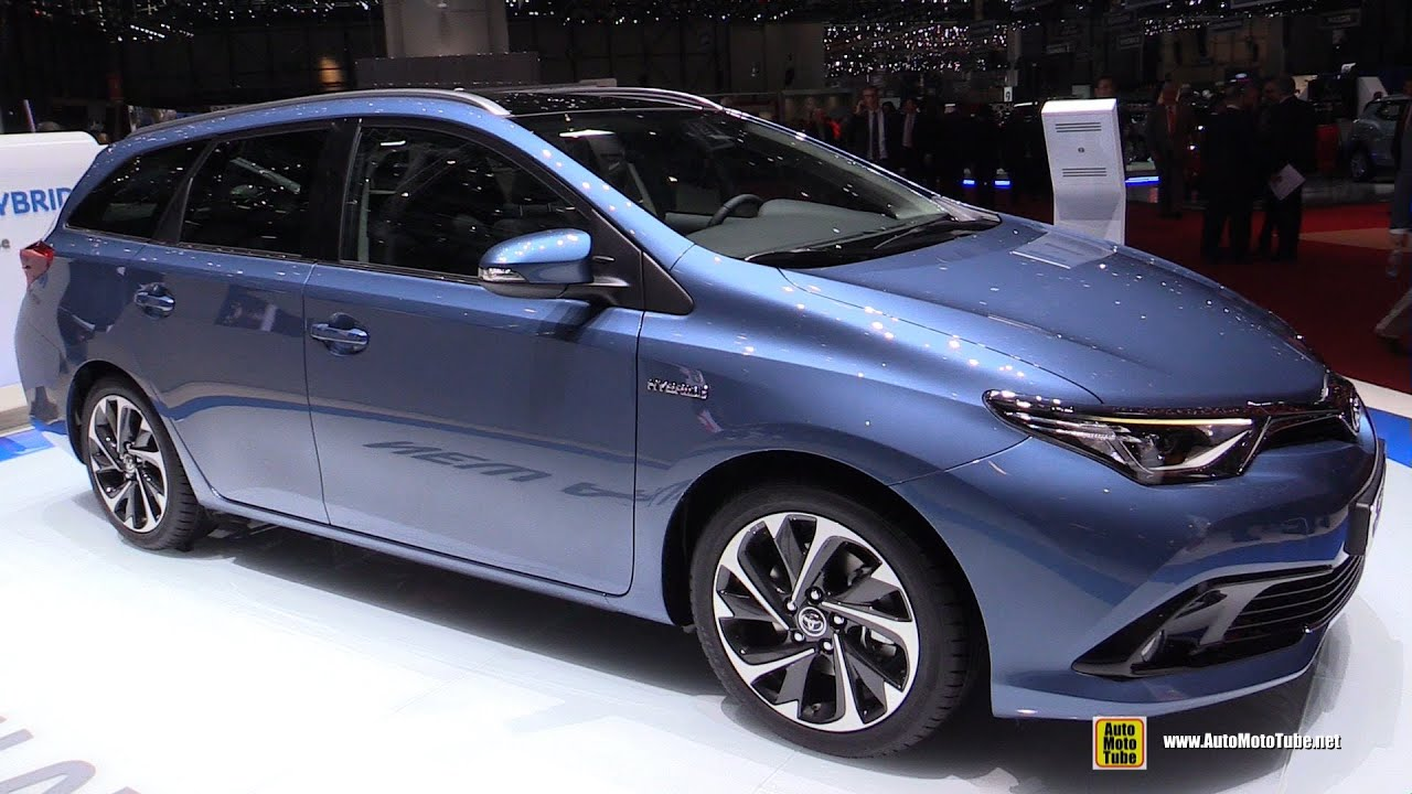 2016 toyota auris hybrid touring sports exterior and interior walkaround 2015 geneva motor. Black Bedroom Furniture Sets. Home Design Ideas
