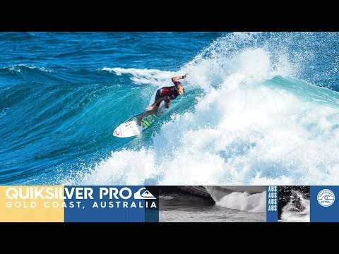 Wright vs. Fanning vs. Hermes - Round Four, Heat 1 - Quiksilver Pro Gold Coast 2018