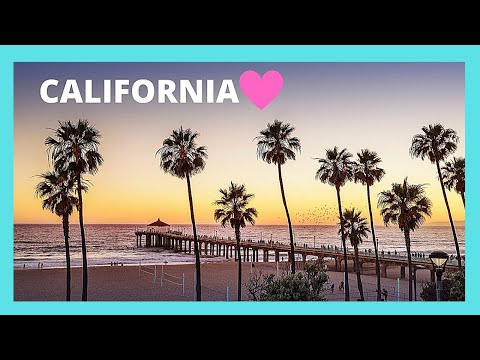 A tour of beautiful Manhattan Beach,  California (USA)