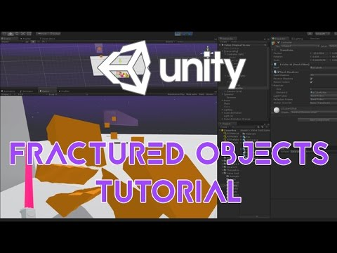 Destructible Objects in Unity 3D, Fractured Environment in VR