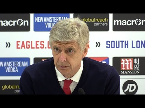 Crystal Palace 3-0 Arsenal - Arsene Wenger Full Post Match Press Conference