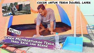 Tutorial Cara Mencuci Tenda double layer yang benar by Ganesha Adventure    Part 2